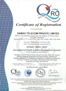 SAMAX TELECOM PRIVATE LIMITED QRO 18001